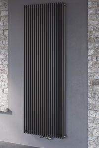 Picture of CORUS DUO VERTICAL, SUPPLIED WITH CENTRAL CONNECTION (ANTHRACITE)