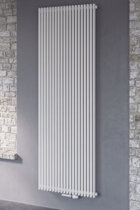Picture of CORUS SINGLE VERTICAL, SUPPLIED WITH CENTRAL CONNECTION (ANTHRACITE)