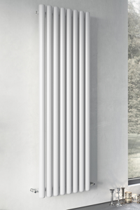 Picture of VULKAN ROUND TUBE SINGLE VERTICAL (ANTHRACITE)