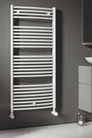 Picture of ZEUS TOWEL RADIATOR VERTICAL (WHITE)